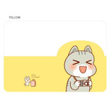 Yellow - N.IVY Narm clear passport cover case holder