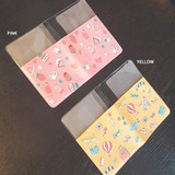 Color - N.IVY Buri clear passport cover case holder