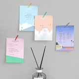 Iconic Lagom illustration memo notepad