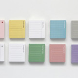 The memo index it small sticky notepad