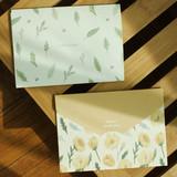 Envelope - Always thank you illustration large folding letter set