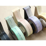 Livework Korean poetry single deco masking tape