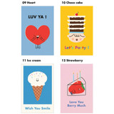 Jam studio Jam birthday card with envelope ver2