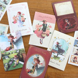 Indigo Classic fairy tale Anne small postcard with stickers
