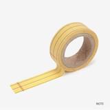Note - Dailylike Memo deco masking tape set of 4