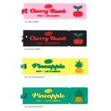 Option - Tasty fruits ticket travel luggage name tag