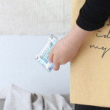 Wanna This Clear pocket folding card case pouch
