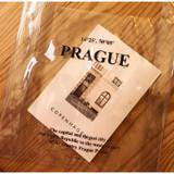 Wanna This Prague PVC Clear tote bag