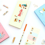 World literature gift paper pencil case set