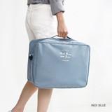 Indi blue - Two way trunk travel organizer pouch bag