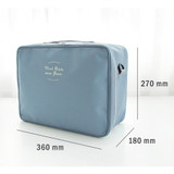 Size - Two way trunk travel organizer pouch bag
