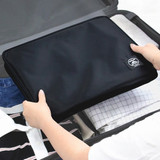 Foldable - Two way trunk travel organizer pouch bag
