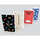 Message and pattern perforated postcard book