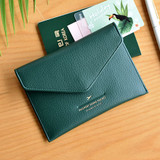 Deep green - Away we go swing RFID blocking passport case