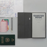 Gray - Ma boheme travel planner notebook