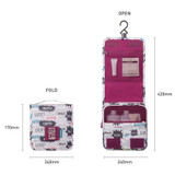 Size - Monopoly Enjoy journey small travel hanging toiletry pouch bag