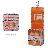 Funny journey - Monopoly Enjoy journey small travel hanging toiletry pouch bag
