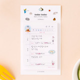 Daily memo - Todac Todac illustration daily sticky notepad memo