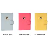 Colors of Du dum RFID blocking passport case holder