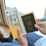 Example of use - Du dum RFID blocking passport case holder