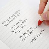 black gel pen 0.5mm