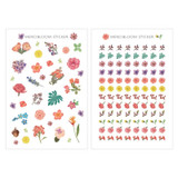 N.IVY Mercibloom transparent clear deco sticker set