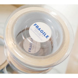 UNIVERSAL CONDITION Warning fragile safe message blue packing tape