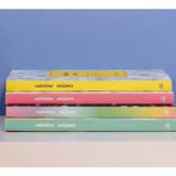 Rainbow dateless weekly diary planner
