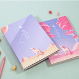 Moon piece undated weekly diary planner
