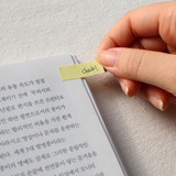 Sticky notes - Scent of book magnetic bookmark with sticky notes
