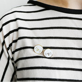 Rolly - ROMANE My rolly pin badges set