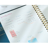 Yearly plan - Wanna This Time for me undated weekly diary planner