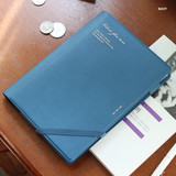 Navy - Time for me undated weekly diary planner