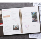 Weekly plan - Wanna This Time for me undated weekly diary planner