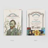 NACOO Vincent van Gogh label sticker set