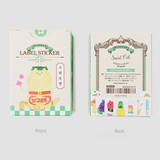 NACOO Sweet cat label sticker set