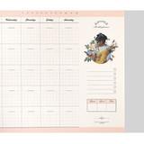 checklist -  Reading dateless monthly desk scheduler pad
