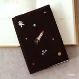 06 Space - Tailorbird pattern dateless weekly planner