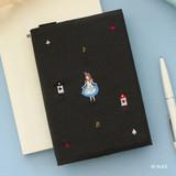 05 Alice - Tailorbird pattern dateless weekly planner