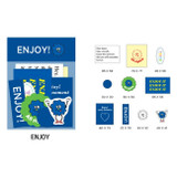 Enjoy - Gunmangzeung Zem decoration  sticker pack
