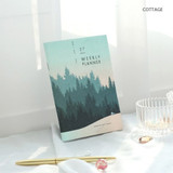 Cottage - 27 Weeks A6 size undated weekly planner