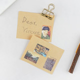 Example of use - NACOO Vincent van Gogh small label sticker set