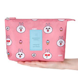 Line friends travel mesh large pocket pouch