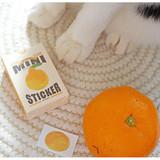 NACOO Sweet cat small label sticker set