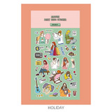 Holiday - Ardium Daily colorful illustration deco paper sticker