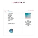 Line note - Dear moonlight dateless weekly diary