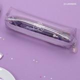 Lavender - Second mansion Dear moonlight twinkle zipper pen case