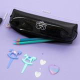 Size - Second mansion Dear moonlight twinkle zipper pen case