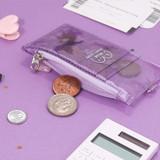 Main zipper pocket - Dear moonlight twinkle zipper card case with neck strap