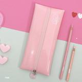 Pink - Second mansion Dear moonlight zipper pencil case pouch